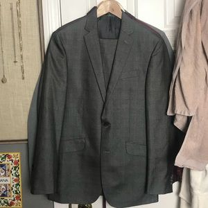 Kenneth Cole Reaction jacket and pant FLOSSY SUIT!